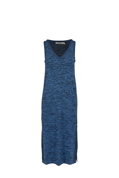Rag & Bone - Ramona Blue Multi Knit Tank Dress
