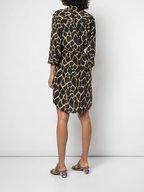 L'Agence - Stella Sienna Printed Shirtdress