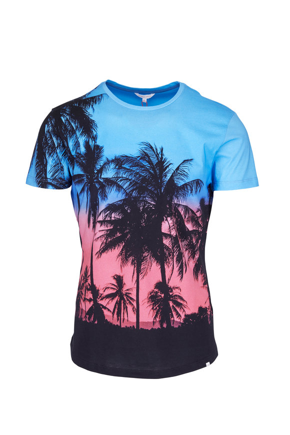 Orlebar Brown Keep Palm Carry On Multicolor T-Shirt