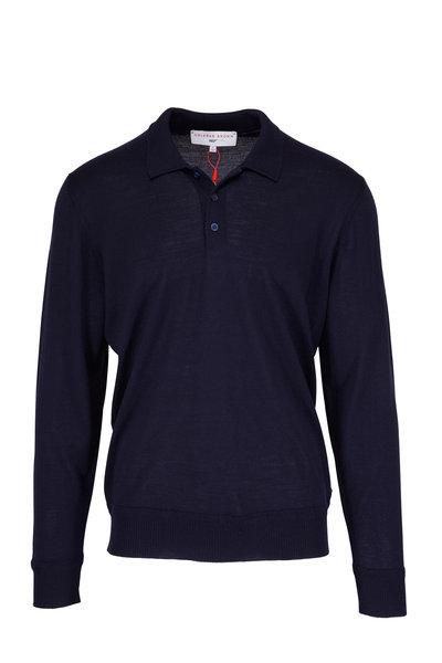 Orlebar Brown - Midnight Thunderball Knit Polo