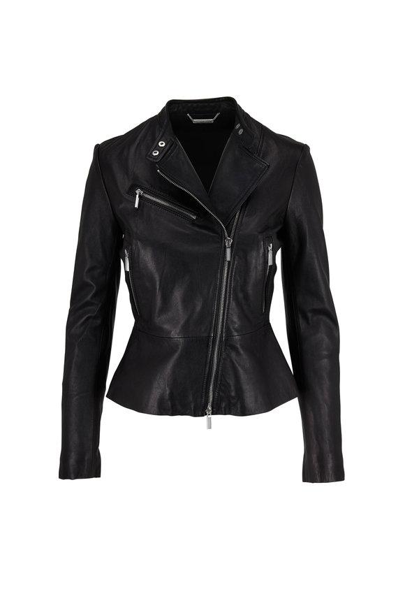 Jonathan Simkhai Black Leather Moto Jacket