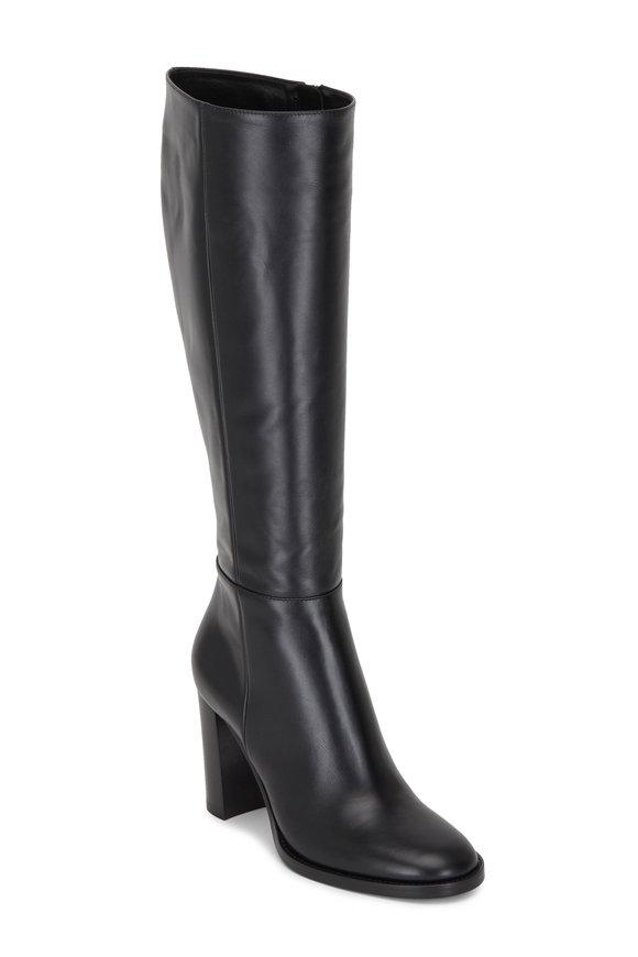 Gianvito Rossi Josseline Vitello Leather Tall Boot, 85mm