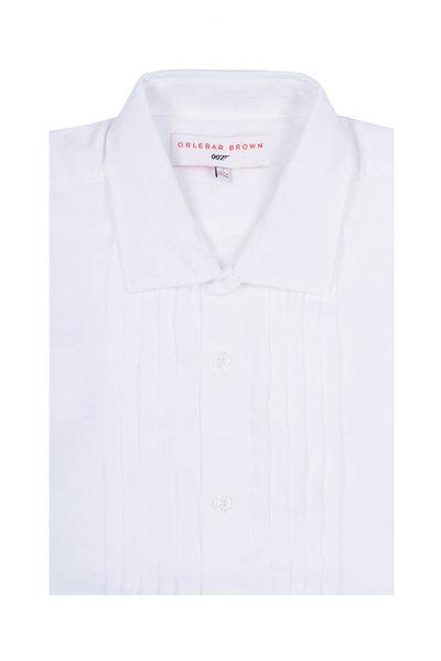 Orlebar Brown - Bond White Sport Shirt
