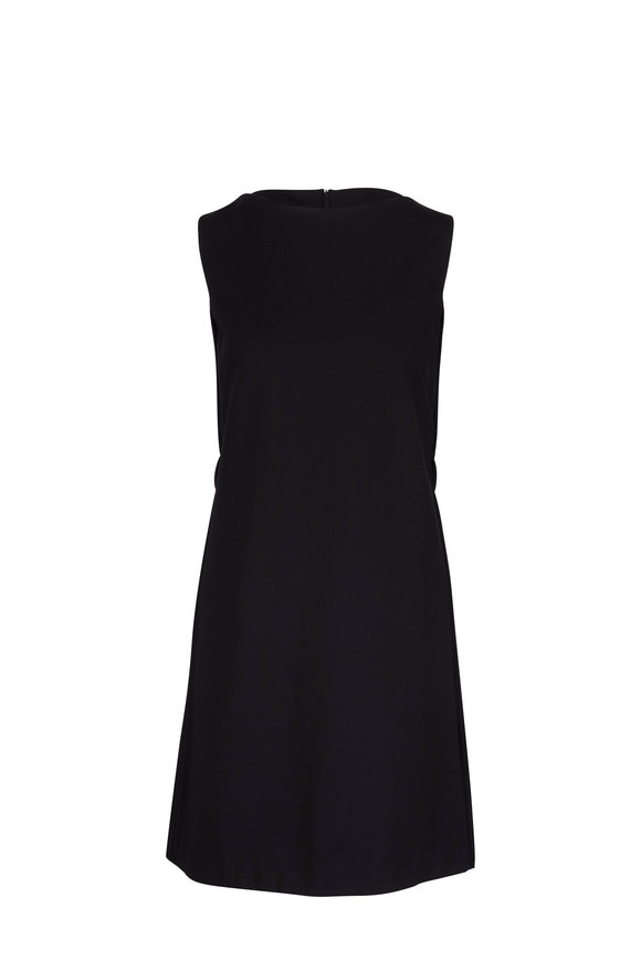 Dorothee Schumacher Emotional Essence Black Pintuck Dress