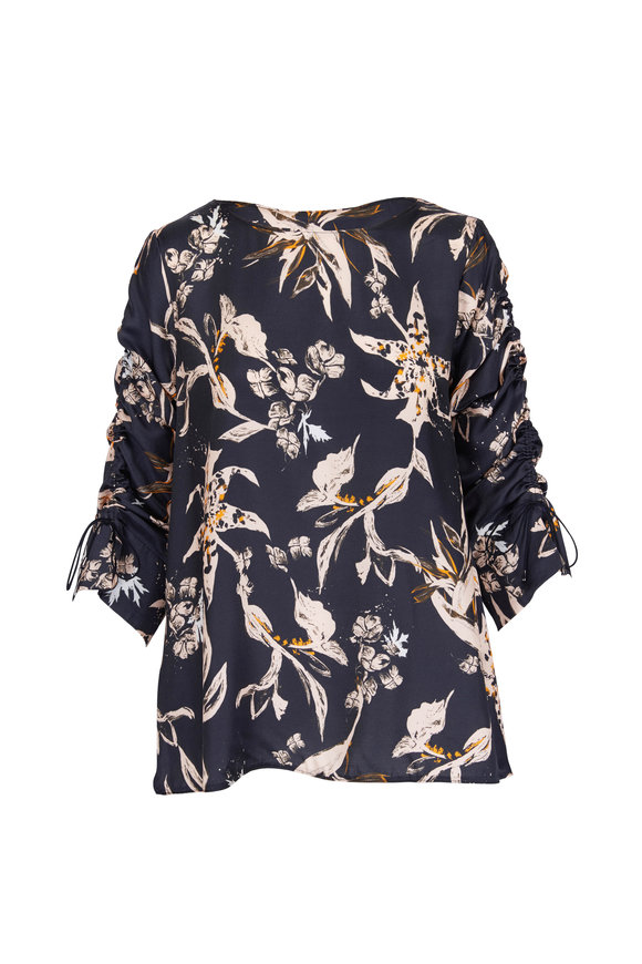 Dorothee Schumacher Tamed Florals Printed Blouse