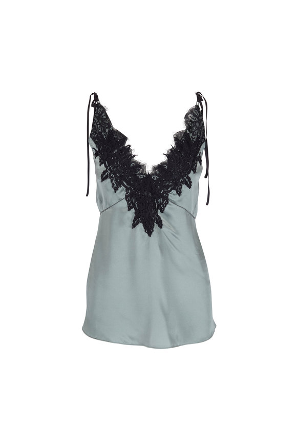Dorothee Schumacher Teasing Softness Sage Lace Tank