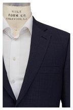 Brioni - Navy & Slate Plaid Wool Suit