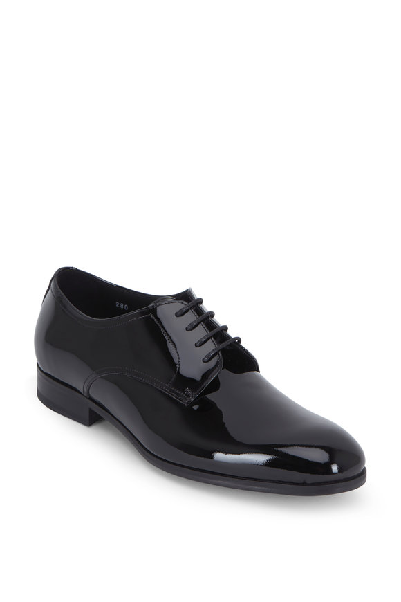 To Boot New York AAlborg Black Patent Leather Oxford