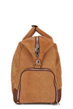 Brunello Cucinelli - Medium Brown Pebbled Leather Travel Bag