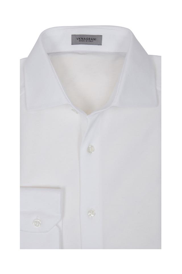 Captain White Sport Shirt