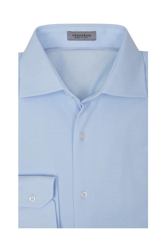 Captain Light Blue Sport Shirt