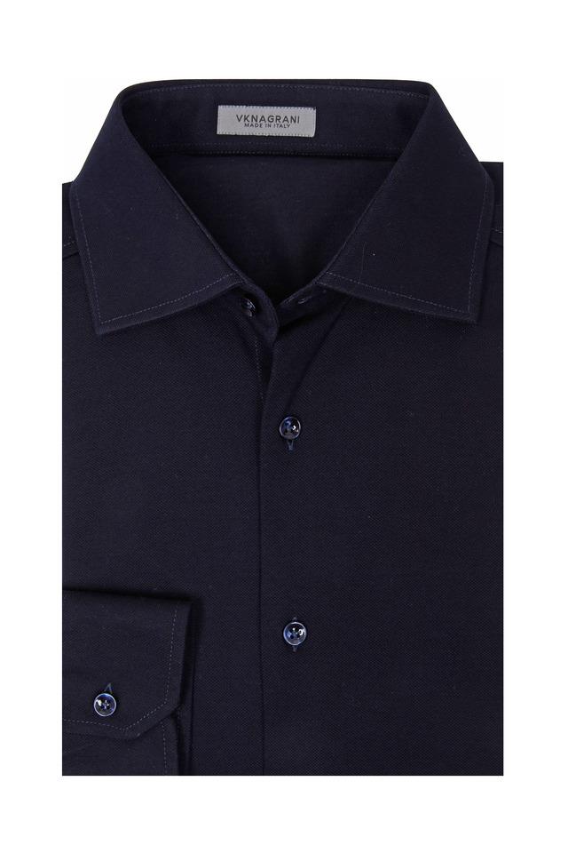 Captain Navy Blue Sport Shirt