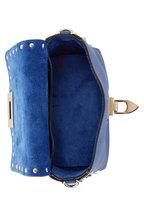 Valentino Garavani - Rockstud Baltique Pebbled Leather Mini Crossbody