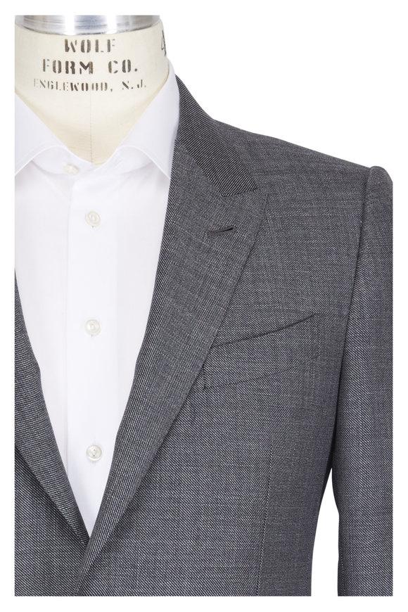 Ermenegildo Zegna Torino Solid Gray Wool Suit