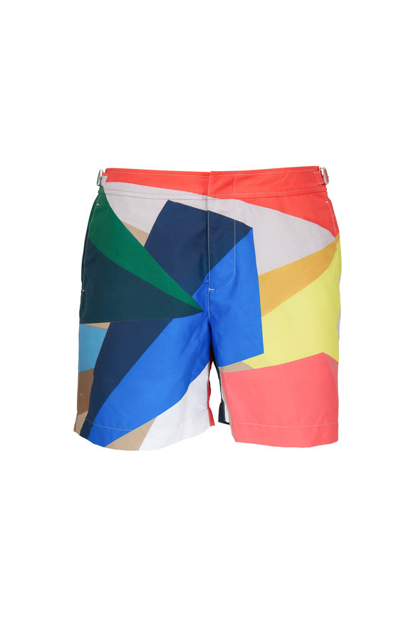 Orlebar Brown Bulldog Rob Wyn Yate Prism Swim Trunks