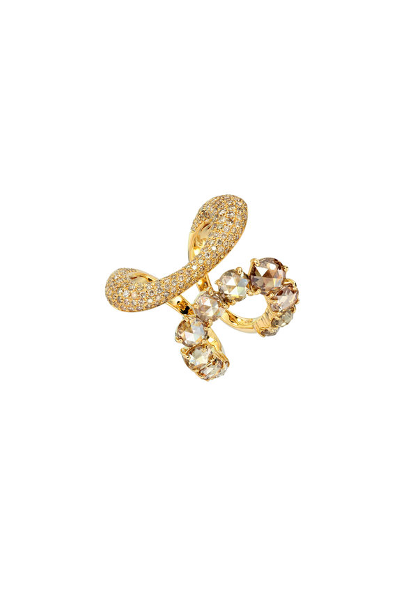Etho Maria 18K Yellow Gold Yellow Diamond Ring