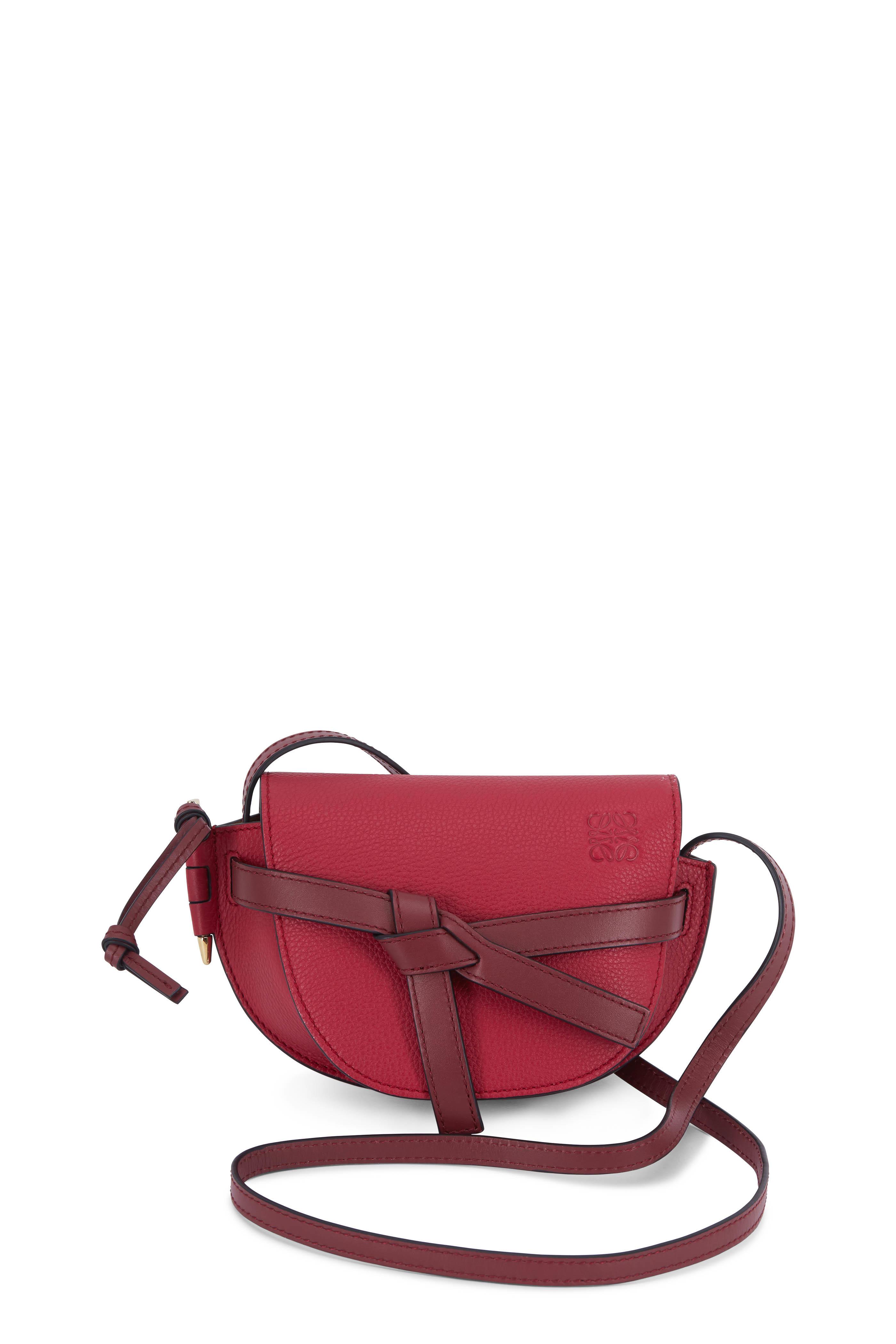 3048dd720b1 Loewe - Mini Gate Raspberry & Wine Crossbody Bag | Mitchell Stores