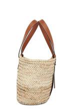 Loewe - Basket Natural & Tan Raffia & Leather Bag