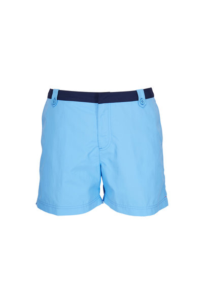 Orlebar Brown - Rivera Thunderball Blue Swim Trunks