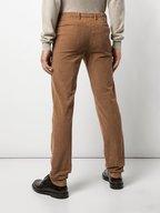Kiton - Camel Stretch Cotton Corduroy Pant