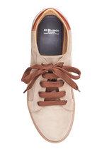 Di Bianco - Velour Fango Sand Sneaker