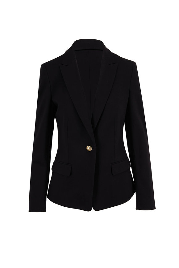 Escada Birkenani Black Single Button Jacket