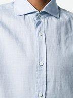 Brunello Cucinelli - Light Blue Basic Fit Sport Shirt