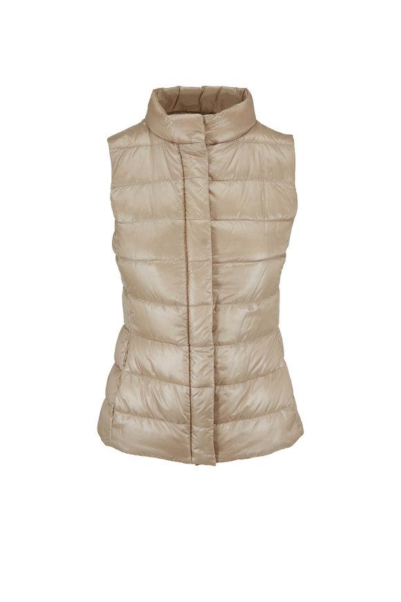 Herno Gold Basic Puffer Vest