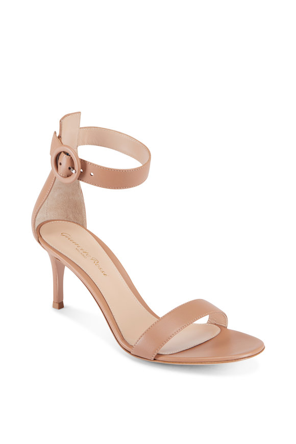 Gianvito Rossi Praline Blush Ankle Strap Sandal