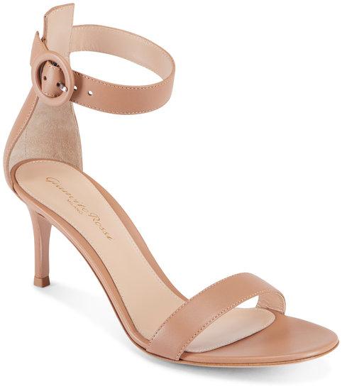 Gianvito Rossi Praline Blush Ankle Strap Sandal