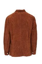 Brunello Cucinelli - Brown Suede Jacket