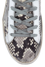 Golden Goose - Superstar Natural Snakeskin Print Sneaker