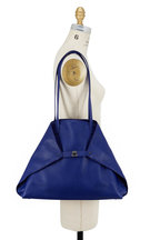 Akris - AI Cobalt Blue Soft Leather Medium Tote