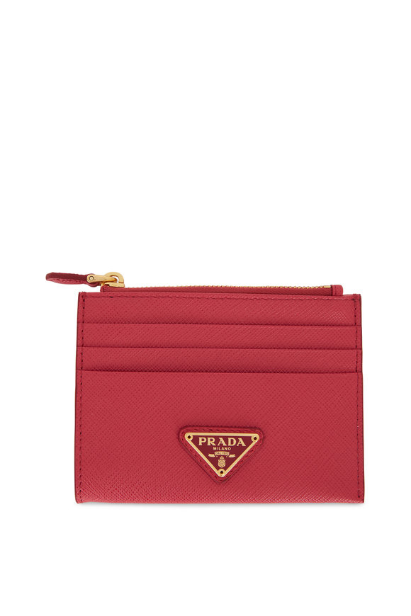 Prada Peonia Vitello Card Case