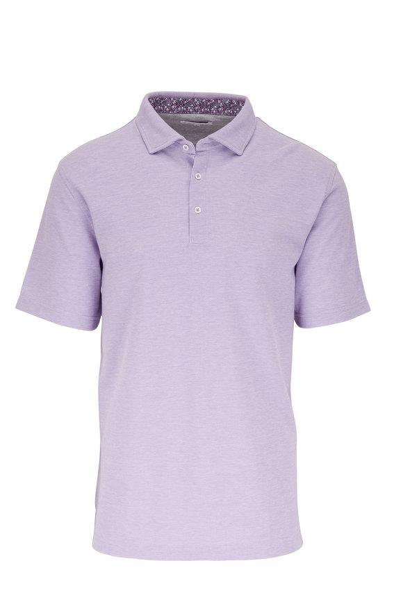 Vastrm Lavender Piqué Polo