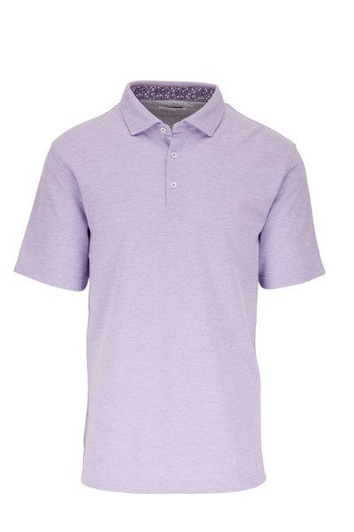 Vastrm - Lavender Piqué Polo