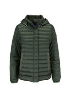 Bogner - Gini-D Green Short Puffy Hooded Jacket