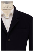Brunello Cucinelli - Navy Blue Cashmere Jacket