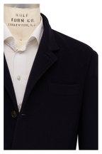 Brunello Cucinelli - Navy Blue Cashmere Jacket