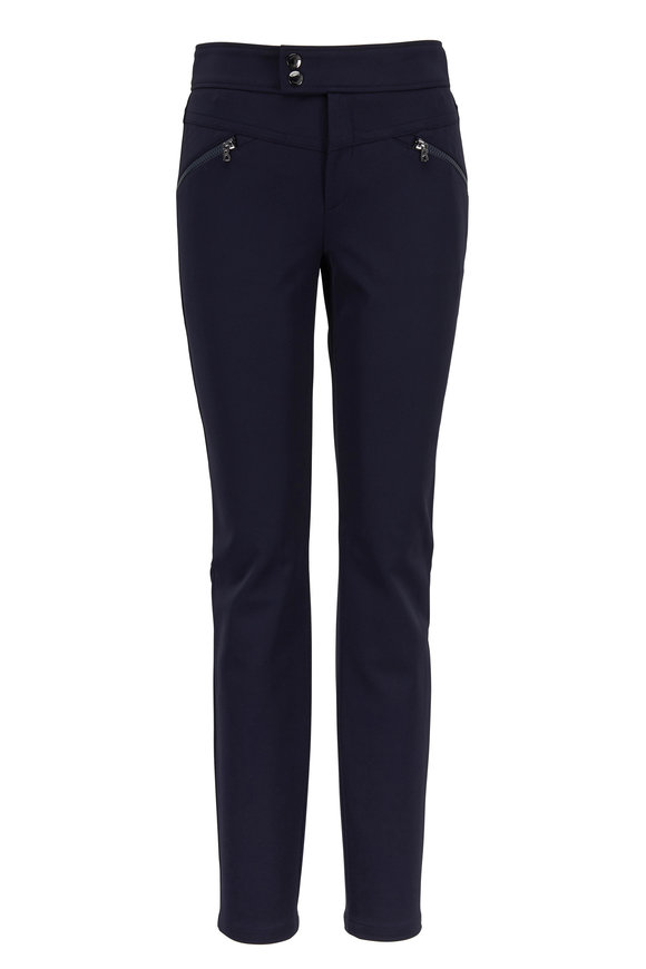 Bogner Lindy Navy Zip Pocket Pant