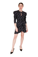 Jonathan Simkhai - Black Star Print Wrap Dress