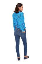L'Agence - Chantal Dark Vintage Low-Rise Jean