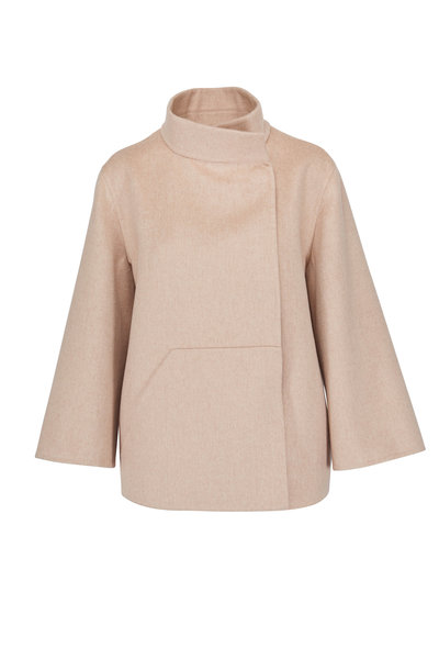 Akris - Rafael Birch Double Faced Cashmere Jacket