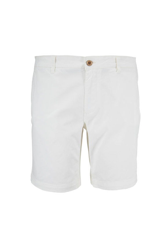 Tailor Vintage Coconut Milk Walking Shorts