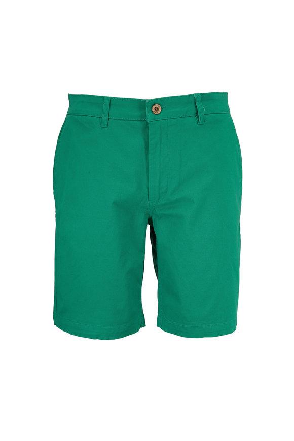 Tailor Vintage Leprechaun Green Walking Shorts