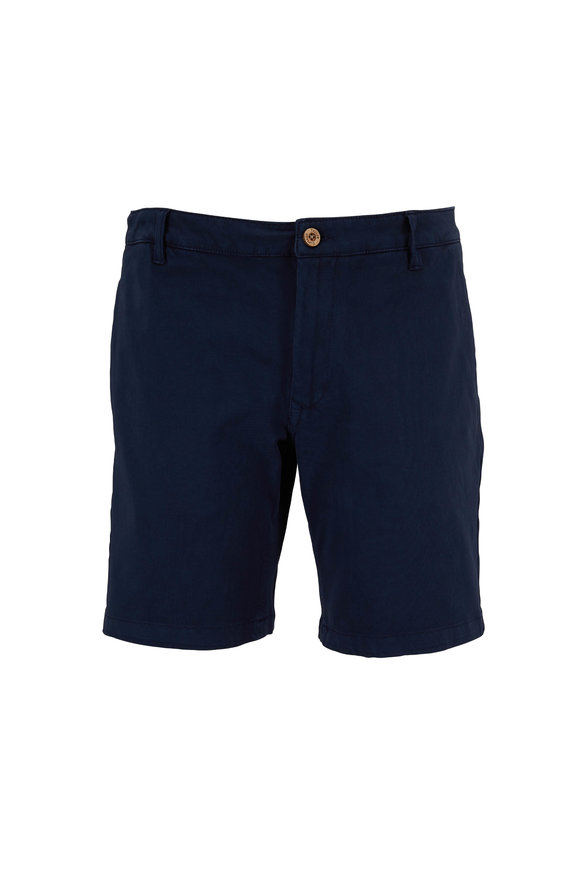 Tailor Vintage Navy Blazer Walking Shorts