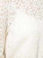 Akris - Swan Floral Jacquard Side Slit Top