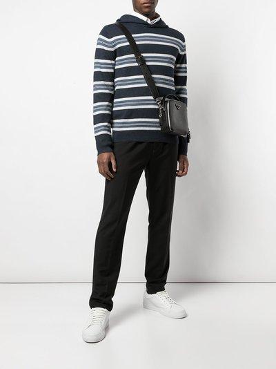 Vince - Coastal Blue Stripe Hoodie