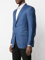 Ermenegildo Zegna - Royal Blue Windowpane Wool Sportcoat