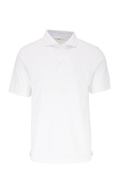 Vastrm - White Tech Jersey Polo